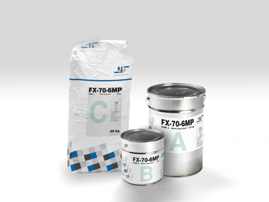FX-70-6MP™ - Mortier époxidique coulable