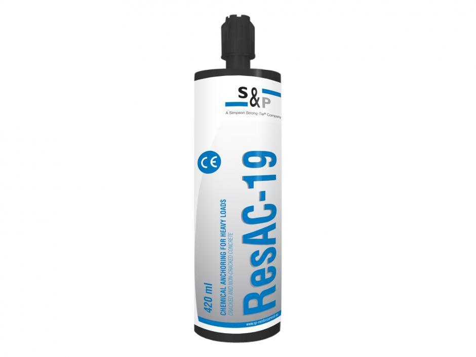 ResAC-19 - Résine de fixation haute performance pour matériau béton