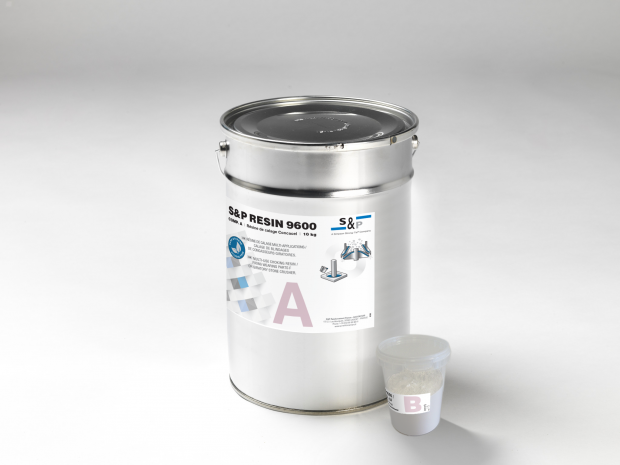 S&P Resin 9600 - Résine de calage multi-applications